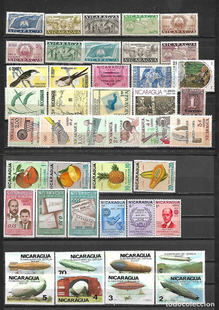 Sellos: OCASION IMPORTANTE COLECCION DE NICARAGUA TODO EN SERIES NUEVAS VER FOTOS - Foto 2 - 234141275