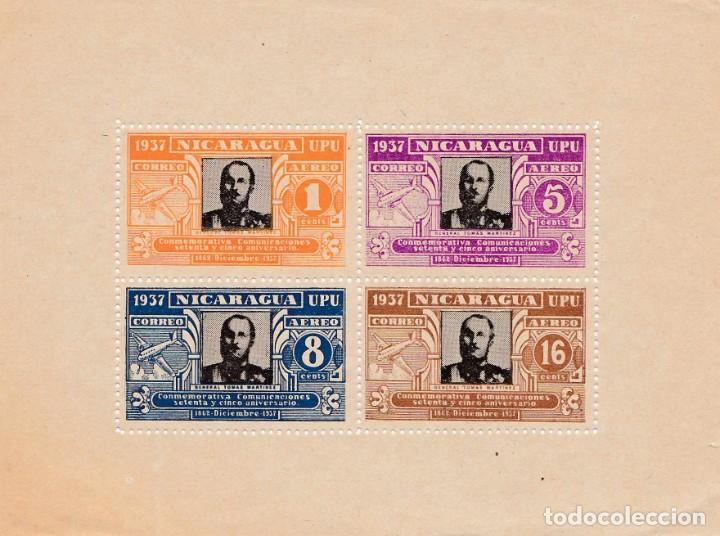 NICARAGUA 1937 SERIE DE DOS VALORES (Sellos - Extranjero - América - Nicaragua)