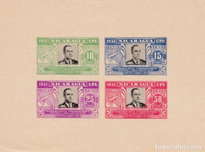 Sellos: Nicaragua 1937 serie de dos valores - Foto 2 - 242082540