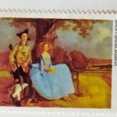 Sellos: SELLO DE NICARAGUA 1 C - 1978 - GAINSBOROUGH - NUEVO SIN SEÑAL DE FIJASELLOS. Lote 242980905