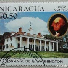 Sellos: 1982. NICARAGUA. 1200. 250 ANIV. NACIMIENTO GEORGE WASHINGTON. VERMON MOUNT. SERIE COMPLETA. NUEVO.. Lote 243393090