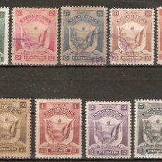 Sellos: NICARAGUA.1906. SERVICIO.136/142. Lote 252933420