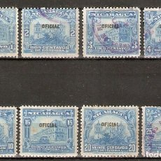 Francobolli: NICARAGUA. 1915. OFICIAL.. Lote 252941300