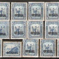 Francobolli: NICARAGUA. 1911. OFICIAL.. Lote 252942745