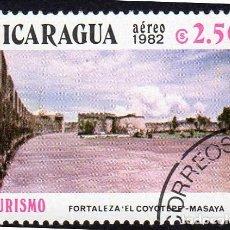 Sellos: AMÉRICA. NICARAGUA,TURISMO. FORTALEZA EL COYOTEPE .YTPA997. USADO SIN CHARNELA. Lote 253743250