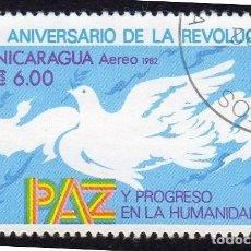 Sellos: AMÉRICA. NICARAGUA,III ANIVERSARIO DE LA REVOLUCIÓN .YTPA991. USADO SIN CHARNELA. Lote 253743580