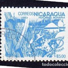 Sellos: AMÉRICA. NICARAGUA .REFORMA AGRARIA.YT1306. USADO SIN CHARNELA. Lote 253900310