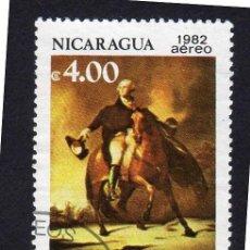 Sellos: AMÉRICA. NICARAGUA. 250 ANIVERSARIO DEL NACIMIENTO DE GEORGE WASHINGTON,YTPA994. Lote 253952170
