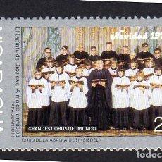 Sellos: AMÉRICA. NICARAGUA,. NAVIDAD 1975. CORO ABADÍA EINSIEDELN.. YT1027. USADO SIN CHARNELA. Lote 253952265
