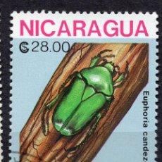 Sellos: NICARAGUA, 1988 , MICHEL 2899. Lote 262985750