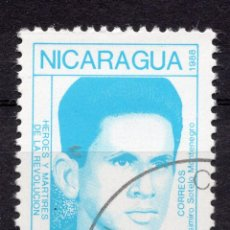 Sellos: NICARAGUA, 1988 , MICHEL 2901. Lote 262985835