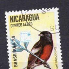 Sellos: NICARAGUA, 1989 , MICHEL 2946. Lote 262986095