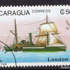 Sellos: NICARAGUA, 1990 , MICHEL 2977. Lote 262986175