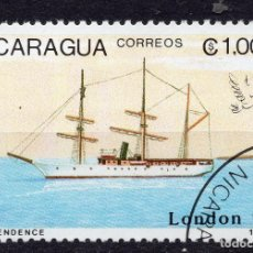 Sellos: NICARAGUA, 1990 , MICHEL 2978. Lote 262986200