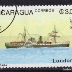 Sellos: NICARAGUA, 1990 , MICHEL 2979. Lote 262986225