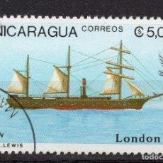Sellos: NICARAGUA, 1990 , MICHEL 2980. Lote 262986240