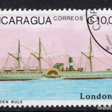 Sellos: NICARAGUA, 1990 , MICHEL 2981. Lote 262986310