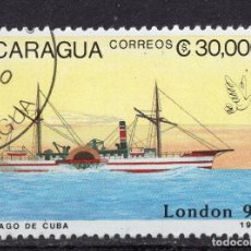 Sellos: NICARAGUA, 1990 , MICHEL 2982. Lote 262986345