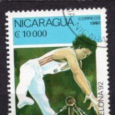 Sellos: NICARAGUA, 1990 , MICHEL 2997. Lote 262986430
