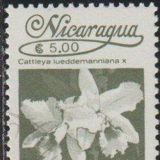 Sellos: NICARAGUA 1986 SCOTT 1517 SELLO * FLORA FLORES ORQUIDEAS CATTLEYA LUEDDEMANNIANA X MICHEL 2662. Lote 268816129