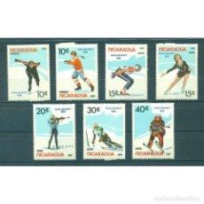 Sellos: ⚡ DISCOUNT NICARAGUA 1987 WINTER OLYMPICS - CALGARY CANADA 1988 MNH - SPORT. Lote 274721933
