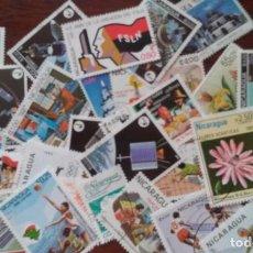 Sellos: LOTE DE SELLOS DE NICARAGUA (30 SELLOS). Lote 276139878