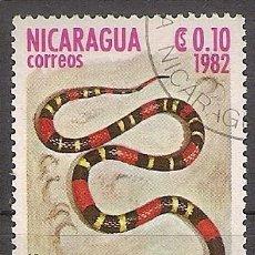 Sellos: NICARAGUA 1982 - YVERT 1228 USADO. Lote 276806508
