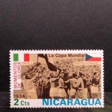 Sellos: SELLO NICARAGUA - COPA MM MUNDIAL- 888. Lote 277244953