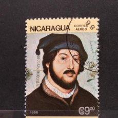 Sellos: SELLO NICARAGUA - JUAN DE LA COSA - 888. Lote 277245038
