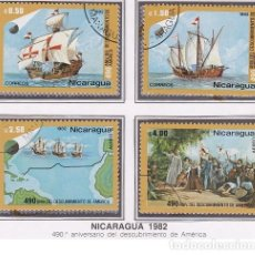 Sellos: LOTE DE SELLOS DE NICARAGUA 1982 - DESCUBRIMIENTOS (AHORRA PORTES DE 1 A 50 MISMO VALOR ENVIO). Lote 285520398