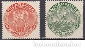 SELLOS NUEVOS DE NICARAGUA - (ENVIO COMBINADO COMPRA MAS) (Sellos - Extranjero - América - Nicaragua)