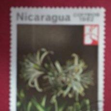 Sellos: NICARAGUA 1982. POCHOTE (BOMBACOPSIS QUINATA) O MI:NI 2329,. Lote 288413253