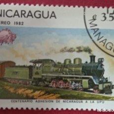 Sellos: NICARAGUA 1982. U.P.U. (UNIÓN POSTAL UNIVERSAL) MEMBRESÍA, CENTENARIO. MI:NI 2270,. Lote 288413698