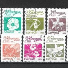 Sellos: SELLO NICARAGUA 1983 FLORA USADO - 15/3. Lote 288420033