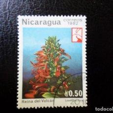Sellos: *NICARAGUA, 1982, FLORA, YVERT 1218. Lote 288970623