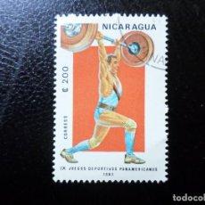 Sellos: *NICARAGUA, 1983, 9 JUEGOS PANAMERICANOS, YVERT 1275. Lote 288973368