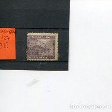 Sellos: SELLOS ANTIGUOS CLASICOS DE NICARAGUA NUMERO 127. Lote 289020943