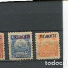 Sellos: SELLOS ANTIGUOS CLASICOS DE NICARAGUA TELEGRAFOS AÑO 1895. Lote 289552713