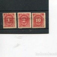 Sellos: SELLOS ANTIGUOS CLASICOS DE NICARAGUA IMPUESTOS TAXA RECARGO AÑO 1899. Lote 289554328