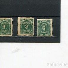 Sellos: SELLOS ANTIGUOS CLASICOS DE NICARAGUA IMPUESTOS TAXA RECARGO AÑO 1898. Lote 289554698