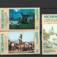 Sellos: NICARAGUA SELLO USADO - 15/61. Lote 289597258