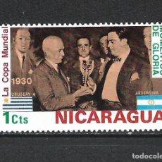 Sellos: NICARAGUA SELLO USADO - 15/61. Lote 289597493