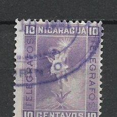 Sellos: NICARAGUA SELLO USADO - 15/34. Lote 289659573