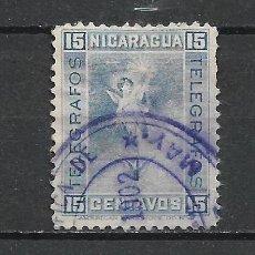 Sellos: NICARAGUA SELLO USADO - 15/34. Lote 289659608