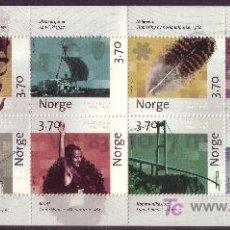 Sellos: NORUEGA CARNET 1203*** - AÑO 1997 - 350º ANIVERSARIO DEL CORREO NORUEGO. Lote 16155065
