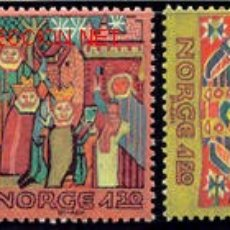 Sellos: NORUEGA 1981 806/8 TAPICES 3V . Lote 4147698