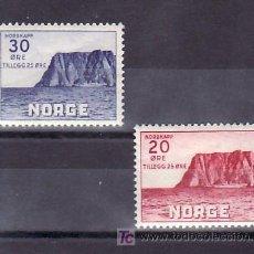 Sellos: NORUEGA 193/4 CON CHARNELA, CABO NORTE, ASOCIACION TURISTICA, . Lote 10779973