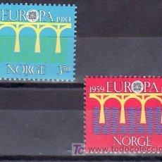 Sellos: NORUEGA 860/1 SIN CHARNELA, TEMA EUROPA 1984, 25º ANIVERSARIO CONFERENCIA EUROPEA,. Lote 10606461
