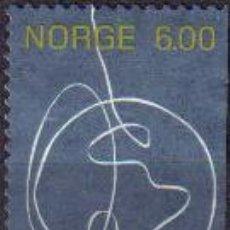 Sellos: NORUEGA 2004 SCOTT 1393 SELLO DE PERSONA A PERSONA GLOBO TERRAQUEO USADO NORWAY NORVÈGE NORGE . Lote 21038968