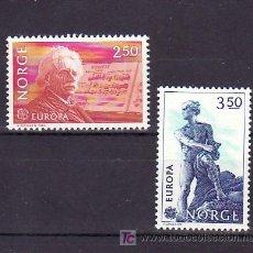Sellos: NORUEGA 841/2 SIN CHARNELA, TEMA EUROPA 1983, MUSICA, GRANDES OBRAS DE LA HUMANIDAD,. Lote 10545024